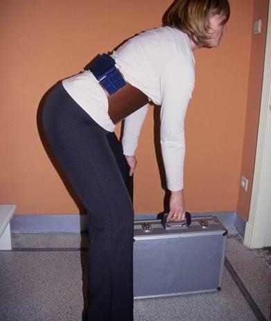 PDA rugbrace werk/sport met leer vooraan verhindert flexie