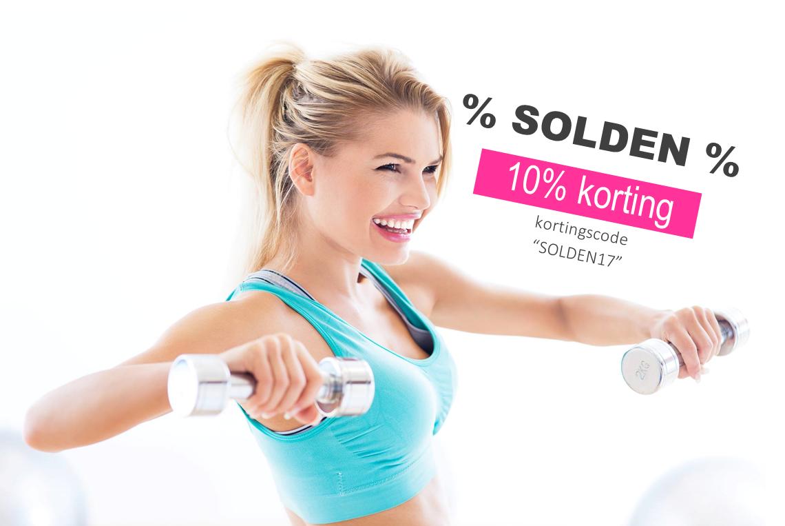 SOLDEN: 10% korting op alleproducten!