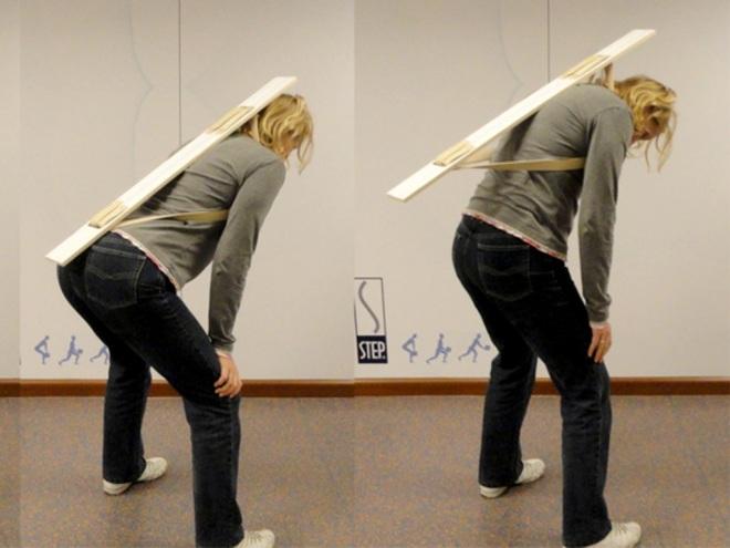STEP BackPack - scholingsbrace ruggebruik