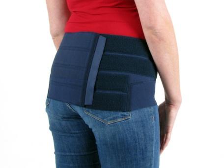 SI/SDA Zwangerschapbrace Meegroei 22,5 cm (achterkant)