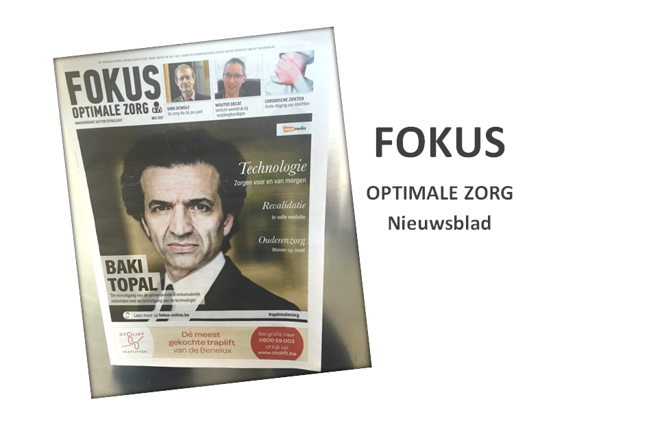 NIEUWSBLAD: Ergomedics & STEP in editie FOKUS OptimaleZorg