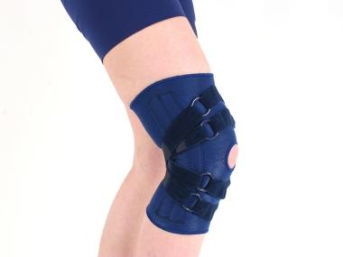 Kniebrace met 4 kruisbanden