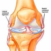 vb knie ruptuur laterale en mediale band