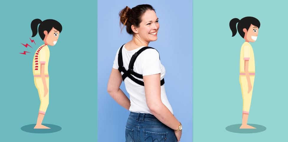 Hoge rug – en nekklachten door afhangendeschouders
