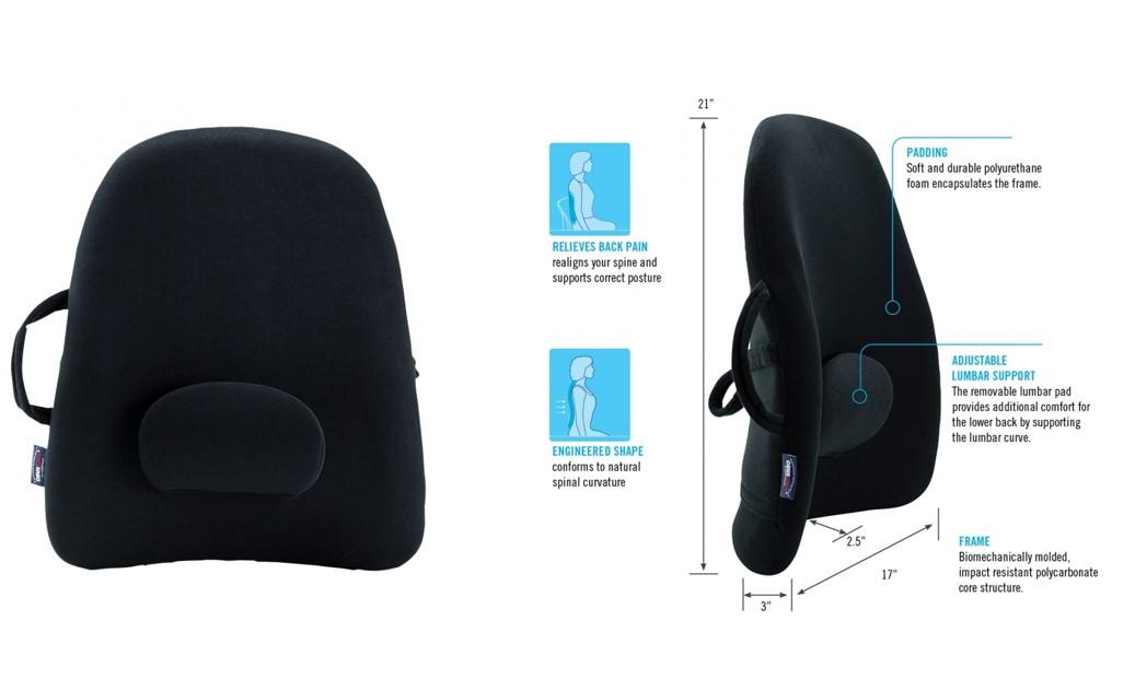 RUGKLACHTEN: ObusForme lowback backrestsupport